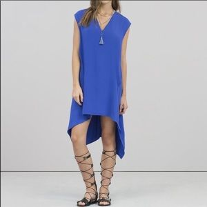 RACHEL Rachel Roy Blue Sydney Oversized Dress